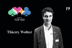 Thierry Wolter, 11e du Paperjam Top 100 2020. ((Illustration: Maison Moderne))