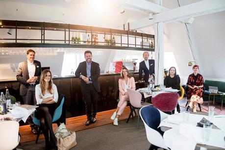 Le jury indépendant, présidé par AudeLemogne, a travaillé durant plusieurs mois dans la plus grande discrétion. (Photo: Jan Hanrion/Maison Moderne)