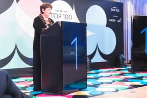 Michèle Detaille (présidente de la Fedil), grande lauréate du Paperjam Top 100, millésime 2020. (Julian Pierrot / Maison Moderne)