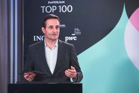 Nicolas Buck (CEO de Seqvoia), troisième du Top 100. ((Photo: Simon Verjus/Maison Moderne))