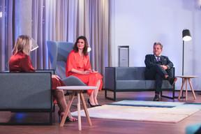 Colette Dierick (ING Luxembourg), Nathalie Reuter (Maison Moderne) et John Parkhouse (PwC Luxembourg) ((Photo: Simon Verjus/Maison Moderne))