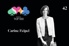 Carine Feipel, 42e du Paperjam Top 100. ((Illustration: Maison Moderne))