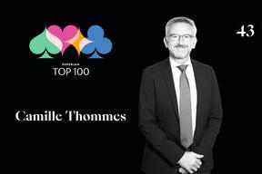 Camille Thommes, 43e du Paperjam Top 100. ((Illustration: Maison Moderne))