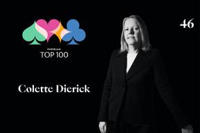 Colette Dierick, 46e du Paperjam Top 100. ((Illustration: Maison Moderne))