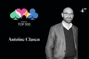 Antoine Clasen, 47e du Paperjam Top 100. ((Illustration: Maison Moderne))