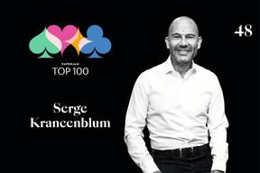 Serge Krancenblum, 48e du Paperjam Top 100. ((Illustration: Maison Moderne))