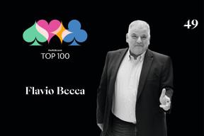 Flavio Becca, 49e du Paperjam Top 100. ((Illustration: Maison Moderne))