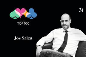 Jos Sales, 31e du Paperjam Top 100 2020. ((Illustration: Maison Moderne))
