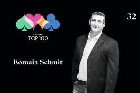 Romain Schmit, 32e du Paperjam Top 100 2020. ((Illustration: Maison Moderne))