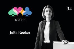 Julie Becker, 34e du Paperjam Top 100 2020. ((Illustration: Maison Moderne))