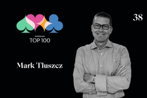 Mark Tluszcz, 38e du Paperjam Top 100 2020. ((Illustration: Maison Moderne))