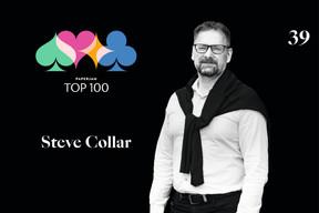 Steve Collar, 39e du Paperjam Top 100 2020. ((Illustration: Maison Moderne))