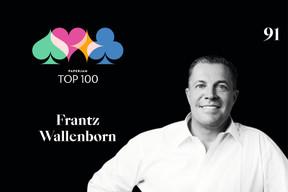Frantz Wallenborn, 91e du Paperjam Top 100 2020. ((Illustration: Maison Moderne))