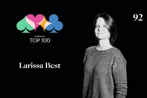 Larissa Best, 92e du Paperjam Top 100 2020. ((Illustration: Maison Moderne))
