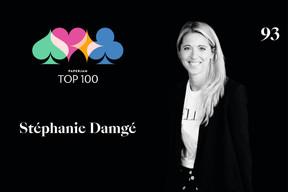 Stéphanie Damgé, 93e du Paperjam Top 100 2020. ((Illustration: Maison Moderne))