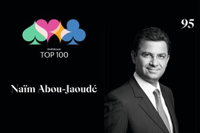 Naïm Abou-Jaoudé, 95e du Paperjam Top 100 2020. ((Illustration: Maison Moderne))