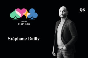 Stéphane Bailly, 98e du Paperjam Top 100 2020. ((Illustration: Maison Moderne))