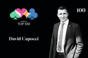 David Capocci, 100e du Paperjam Top 100 2020. ((Illustration: Maison Moderne))
