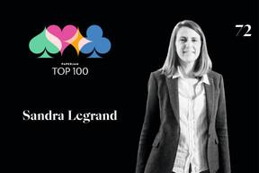 Sandra Legrand, 72e du Paperjam Top 100 2020. ((Illustration: Maison Moderne))