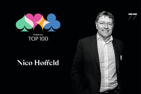 Nico Hoffeld, 77e du Paperjam Top 100 2020. ((Illustration: Maison Moderne))