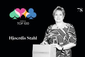 Hjoerdis Stahl, 78e du Paperjam Top 100 2020. ((Illustration: Maison Moderne))