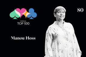 Manou Hoss, 80e du Paperjam Top 100 2020. ((Illustration: Maison Moderne))