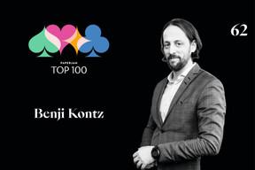 Benji Kontz,62e duPaperjam Top 100. ((Illustration: Maison Moderne))
