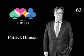 Patrick Hansen,63e duPaperjam Top 100. ((Illustration: Maison Moderne))