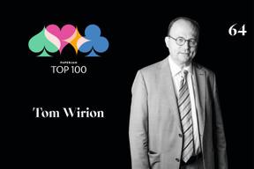 Tom Wirion,64e duPaperjam Top 100. ((Illustration: Maison Moderne))