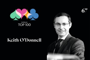 Keith O'Donnell,67e duPaperjam Top 100. ((Illustration: Maison Moderne))