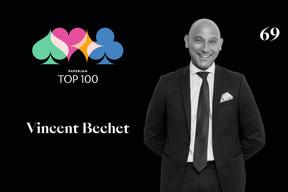 Vincent Bechet,69e duPaperjam Top 100. ((Illustration: Maison Moderne))
