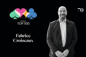 Fabrice Croiseaux, 70e duPaperjam Top 100. ((Illustration: Maison Moderne))