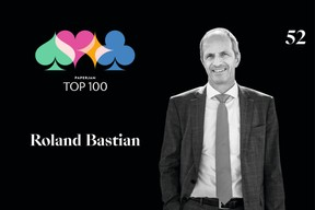 Roland Bastian, 52e du Paperjam Top 100. ((Illustration: Maison Moderne))