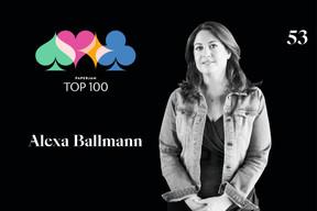 Alexa Ballmann, 53e du Paperjam Top 100. ((Illustration: Maison Moderne))