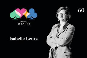 Isabelle Lentz, 60e du Paperjam Top 100. ((Illustration: Maison Moderne))