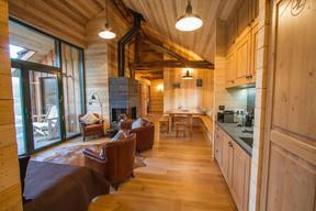 L'intérieur très cosy des différents lodges. ((Photo: Morgane Bricard))
