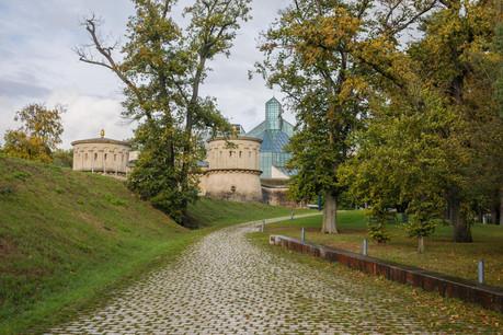 Le parc Dräi Eechelen commence à se parer de couleurs automnales. (Photo: Matic Zorman / Maison Moderne)