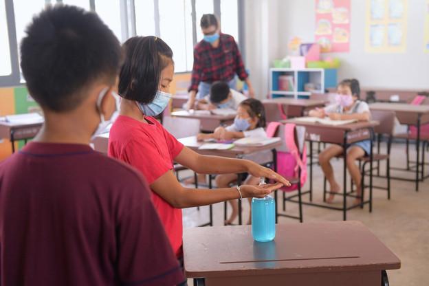 Les enfants à l'école devront s'habituer à suivre de nouvelles règles. (Photo: Shutterstock)