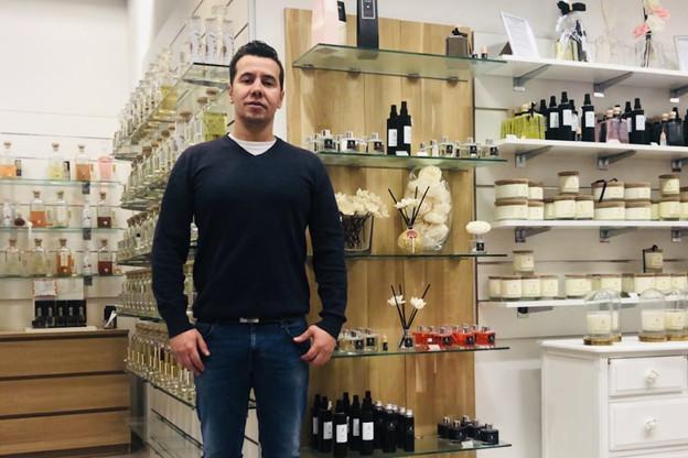 Ricardo Caetano, passionné par le parfum depuis son enfance, a ouvert son magasin à Ettelbrück le 25 août2018. (Photo: Sens Parfée)