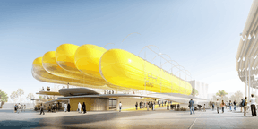 selgascano + FRPO,  Spanish Pavilion , Expo Dubai 2020 ((Illustration :selgascano + FRPO))