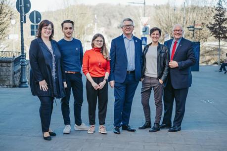 Trois hommes et trois femmes emmèneront les socialistes aux élections européennes le 26 mai prochain. (Photo: Facebook LSAP)