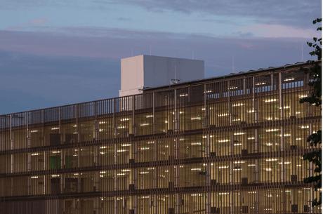 La façade du parking du Fort Neipperg a été retravaillée et assure une plus grande transparence entre intérieur et extérieur. (Photo: Ville de Luxembourg)