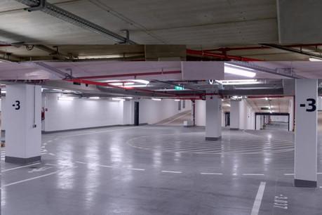 Après appel d'offres,   Codic, le promoteur du Royal-Hamilius, a cédé en concession les 628places de stationnement à Apcoa . (Photo: Codic/Archives)