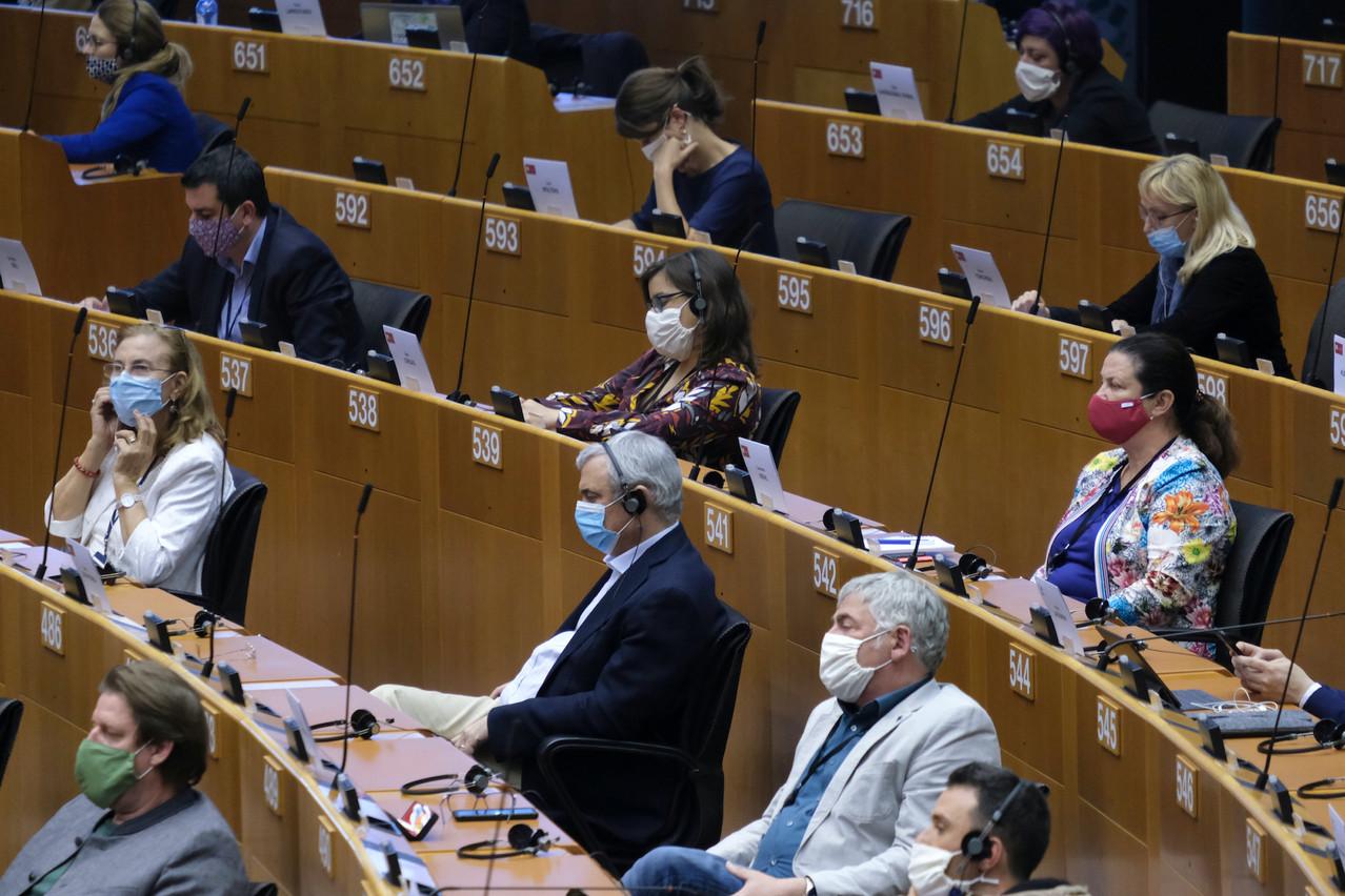 548 eurodéputés ont approuvé, mercredi 16 décembre, le budget pluriannuel de l'Union européenne pour la période 2021-2027. (Photo: Shutterstock)