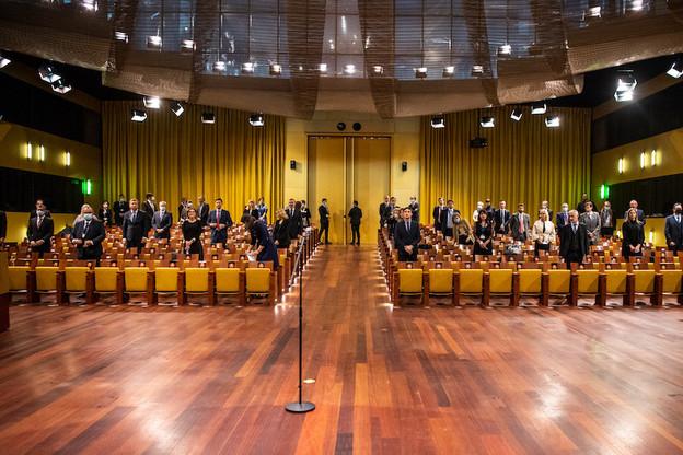 Les 22procureurs européens sont officiellement entrés en fonction lundi aux côtés de leur chef, Laura Codruta Kovesi. (Photo : CJUE)