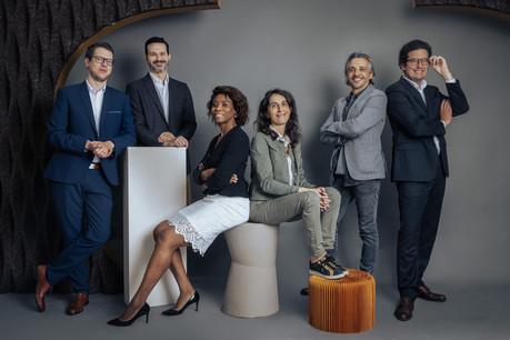 Olivier Riehl,Eric Babaud,Caline Djiowa, Emmanuelle Boelens, Cyril Lamorlette, Cédric Flipo. EdouardOlszewski