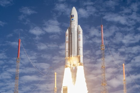 Ce projet de deux ans a pour objet de réduire le coût de lancement des fusées. La recherche est financée par ArianeGroup et le Fonds national de la recherche (FNR) du Luxembourg. (Photo: ESA-CNES-Arianespace)