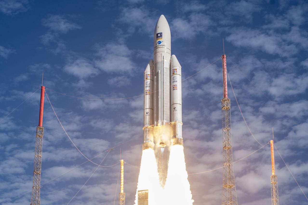 Ce projet de deux ans a pour objet de réduire le coût de lancement des fusées. La recherche est financée par ArianeGroup et le Fonds national de la recherche (FNR) du Luxembourg. (Photo: ESA-CNES-Arianespace)