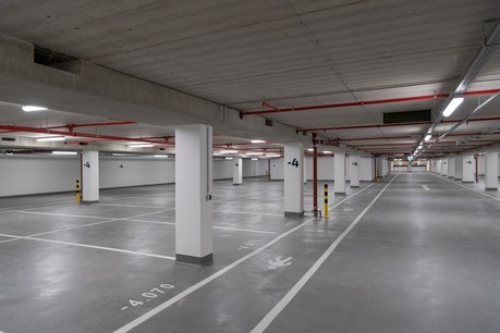 Le parking du Royal-Hamilius, inauguré en septembre2018, est tout neuf. Mais y stationner a un prix. (Photo: Charles Duprat/archives)
