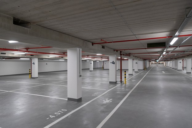 Le parking du Royal-Hamilius, inauguré en septembre 2018, est tout neuf. Mais y stationner a un prix. (Photo: Charles Duprat/archives)